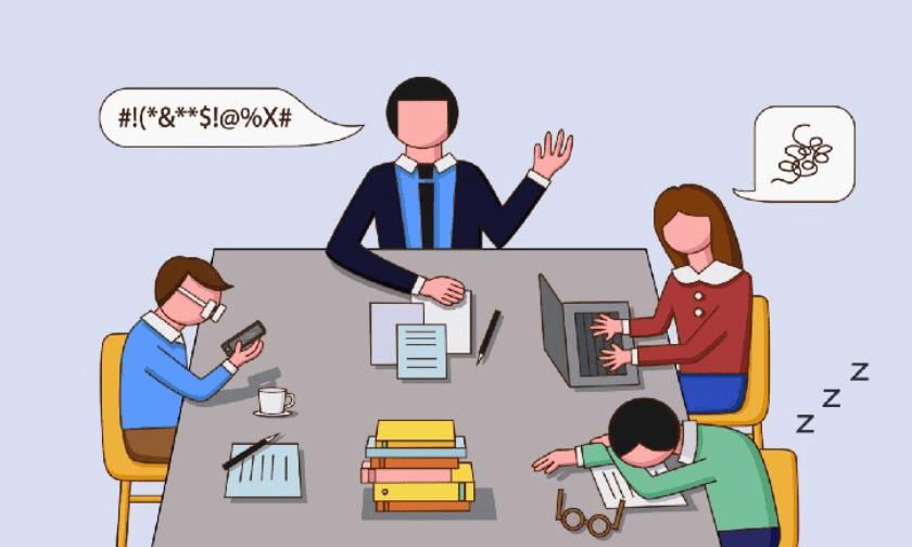 lenguaje y juntas de trabajo