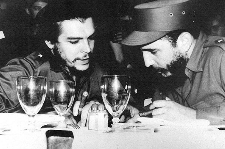 'Che' Guevara y Fidel Castro