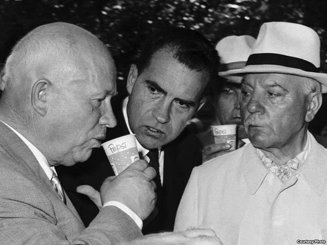 Nikita Khrushchev pepsi