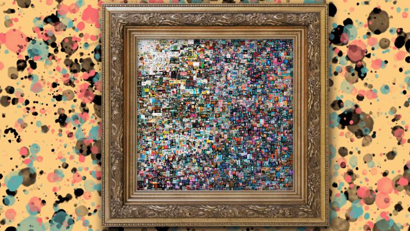 arte digital en subasta millonaria