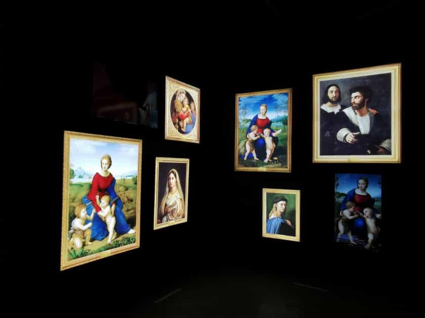 Exposición Rafael Sanzio