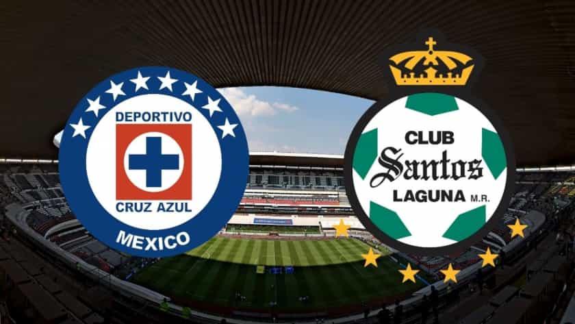 Cruz Azul contra Santos
