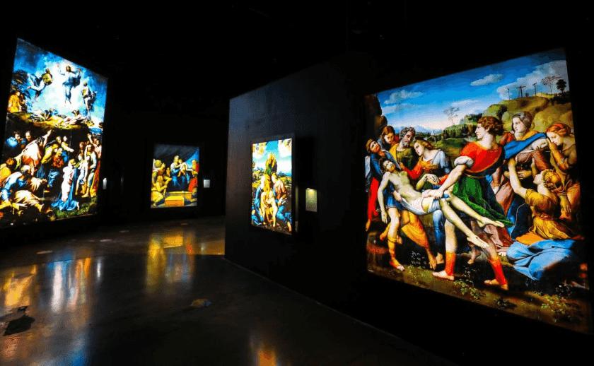 exposición Raffaello